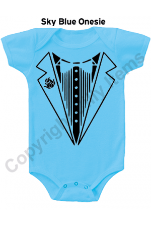 Tux Baby Funny Baby Onesie