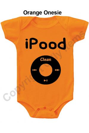 iPoodFunny Baby Onesie